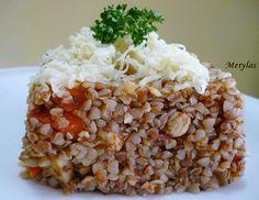 Pohanka s kuřecím masem Korn, Quinoa, Grains, Low Carb, Rice, Recipes, Fitness, Ripped Recipes