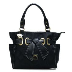 KnowInTheBox - High Quality Coach Poppy Collection Black Satchels From China