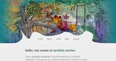 35 Websites Which Use Watercolor Effects 3