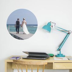 Your Photo Circle Wall Stickers