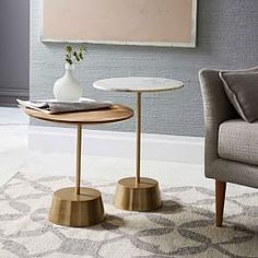 Shop side table from west elm. Find a wide selection of furniture and decor options that will suit your tastes, including a variety of side table. Small Furniture, Contemporary Furniture, Living Room Furniture, Home Furniture, Furniture Design, Luxury Furniture, Contemporary Side Tables, Furniture Movers, Italian Furniture