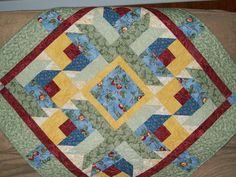 red rose bud lap quilt floral wall quilt rose by ExpressionQuilts, $69.00