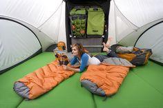 Sylvan Sport Go pop up tent trailer  Set up for four