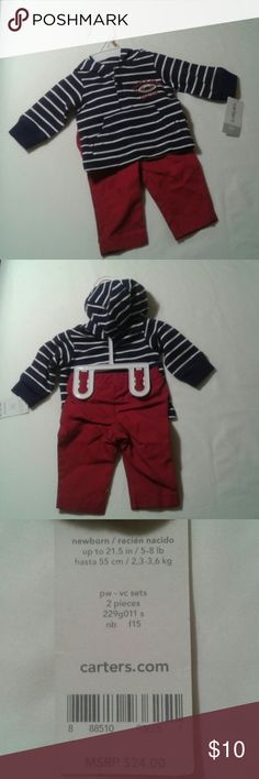 Carter's newborn 2 piece Nice baby boy clothing for your new bundle of joy. Carter's Matching Sets