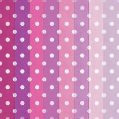 free papers - pinkish polka dot paper
