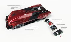 TESLA: Le Mans 2030. Official submission to the Michelin Design Challenge 2017: Design for the Win. A look into the future of endurance racing, when all electric racers change the landscape and the way of racing. After years of secret in-house development…