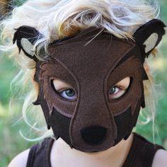 Handmade Bear Eco-Felt Costume