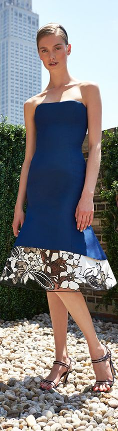 Carolina Herrera Resort 2014 would be nice with a top or as a 2 pc