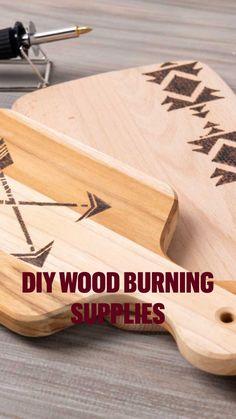 Wood Burning Tool, Wood Burning Crafts, Wood Burning Patterns, Wood Crafts, Wooden Crates, Wooden Art, Diy Outdoor Furniture, Wood Furniture, Album Maker