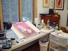 home painting studio