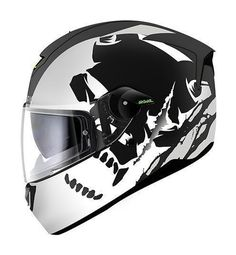 The Shark SKWAL Helmet features integrated LED accents on the front and rear vents that shouts your presence to the world.