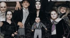 Addams Family Values - Family Portrait with Pubert, the Addams' newborn