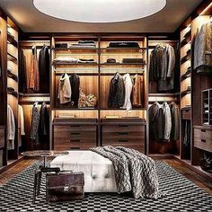 • Wardrobe goals. 👌  Tag a friend who needs this in his bachelor pad!  ________________________________