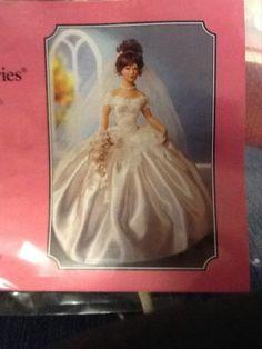 Porcelain Bridal Doll picclick.com