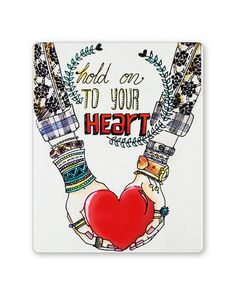 Buy PosterGuy Hold on to your heart Mousepad online India