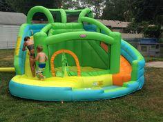 Kids new water slide bounce house I got em :)