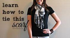 what i wore--scarf edition - A girl and a glue gun