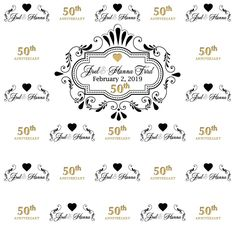 Anniversary Step and Repeat Repeat, Backdrops, How To Memorize Things, Playing Cards, Anniversary, Templates, Prints, Stencils, Playing Card Games