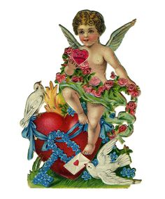 """From the Victorian Valentines collection: """"To My Valentine"""""""