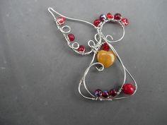 wire jewelry   New wire angel design « LuRocks Jewelry