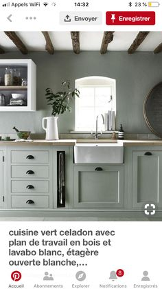 Farmhouse kitchen paint colors interior New Ideas Best Kitchen Cabinets, Modern Cabinets, Kitchen Cabinet Design, Kitchen Paint, Interior Design Kitchen, New Kitchen, Kitchen Tile, White Cabinets, Grey Kitchens