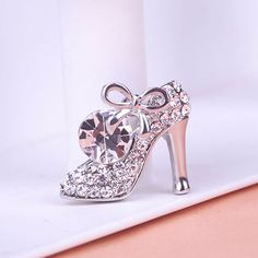 Korean Jewelry Colorful Rhinestone Brooches High heeled Shoes Broches Brooch Bouquet Hijab Pins Relogio Masculinos From India UK-in Brooches from Jewelry & Accessories on Aliexpress.com | Alibaba Group