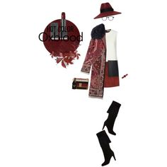 2015 Hot Color: Oxblood by joanna46-1 on Polyvore featuring polyvore, fashion, style, Edun, Tory Burch, Christian Louboutin, Valentino, Marc by Marc Jacobs, RetroSuperFuture, Kurt Geiger and Burberry