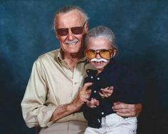 Because this little girl got to meet Stan Lee. | 51 Reasons 2013 Was The Best Year Ever To Be A Nerd