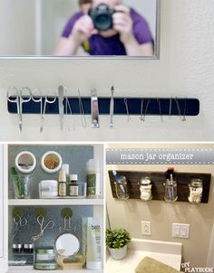 Space Saving Hacks bathroom