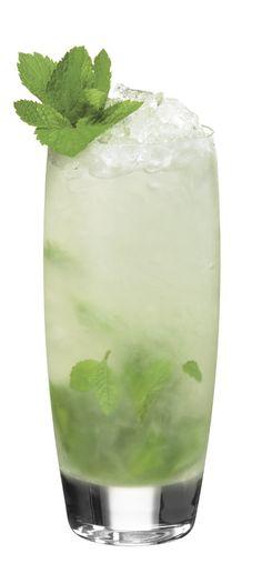 ½ parts Skinnygirl™ Cucumber Vodka 4 mint leaves 1 large basil ...