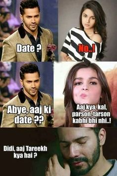 Mental alia...... VD ko rulaaya Don't cry VD... I still  love u