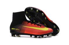 newest 749ac c0e68 Nike Mercurial Superfly V AG-Pro Total Crimson Volt Pink Blast on  www.evensoccer