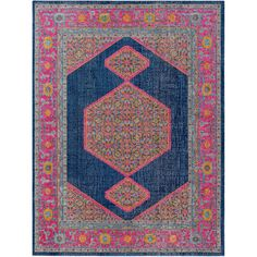 Tessera Navy (Blue) 7 ft. 10 in. x 10 ft. 3 in. Indoor Area Rug