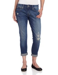 Levi's Women's Boyfriend Skinny Jean           ($29.16) http://www.amazon.com/exec/obidos/ASIN/B00D07SJ3A/hpb2-20/ASIN/B00D07SJ3A To big in waist but so tight in the legs. - They are exceptionally cute and fit very well, great for weekend wear! - Will return when I get back from vacation.