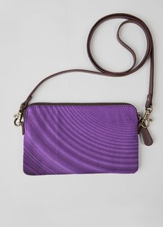 Statement Clutch - Purple Arcs Clutch in Purple by VIDA Original Artist Vida Design, Original Art, Women's Rights, The Originals, Elegant, Purple, Unique, Artist, Artwork