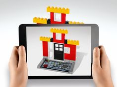 LEGO Fusion combines tablet games with physical bricks to blend digital and physical worlds.