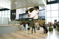 Aeroporti - Prada - Milano Malpensa #IGPDecaux #Prada #Milano #Malpensa
