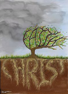 """""""Blessed is the man who trusts in the LORD... He is like a tree planted by water, that sends out its roots by the stream, and does not fear ..."""