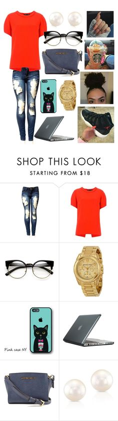 """"""""""" by kaycameron ❤ liked on Polyvore featuring Proenza Schouler, Michael Kors and Speck"""
