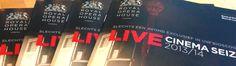 Print Designs for Royal Opera House London- Live Cinema Season 2013/14 in Holland.