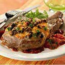 Portobello Pork Chops - Take the top prize and win over your dinnertime crowd by serving up the grand-prize-winning recipe of the 'No Recipe' recipe contest by Michael Holowis of Pottstown, PA. Serve with a green salad and bread sticks.