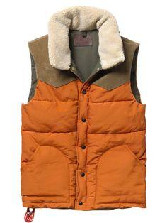 Scotch and Soda lumberjack vest