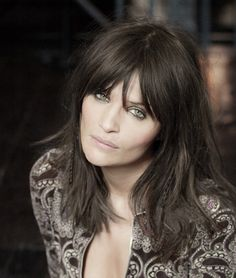 model hair bangs - Google Search