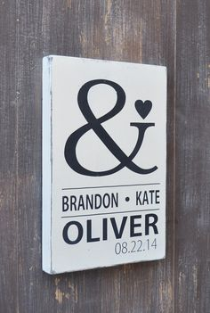 Custom Wood Wedding Sign Bridal Shower Gift Wedding by wavynavy
