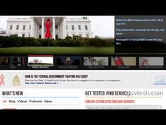 HHS Integrates Federal Data for HIV/AIDs Services Locator Tool - YouTube