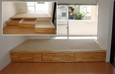 9 Amazing Folding Sofa Beds For Small Spaces (You Can Afford) - Bett Diy Sofa Bed, Beds For Small Spaces, Tiny House Furniture, Small Room Bedroom, Diy Platform Bed, Diy Furniture Couch, Diy Bed, Sofa Bed For Small Spaces, Couch Furniture