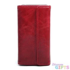 Trendy leren iPhone hoesjes - #leather iphone cases 4 | Unisex Sleek Genuine Leather Cell Phone Case/ Compatible w/ iPhone 4/4S - Red Color: Red - http://lereniPhone5hoesjes.nl