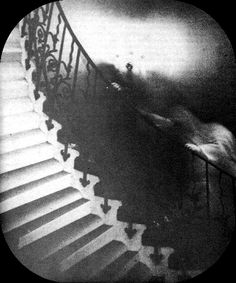Ghost on Stairs