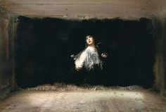 ARTIST PAINTS MOODY AND ATMOSPHERIC BAROQUE-INSPIRED MURALS INSIDE ABANDONED BUILDINGS Artist TED PIM