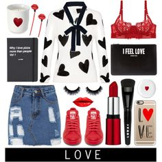 love by julietacelina on Polyvore featuring polyvore fashion style Alice + Olivia STELLA McCARTNEY Givenchy Casetify LORAC Topshop Williams-Sonoma women's clothing women's fashion women female woman misses juniors polyvoreeditorial